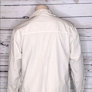 fresh produce Jackets & Coats - Fresh Produce XL Khaki Lightweight Cotton Jacket